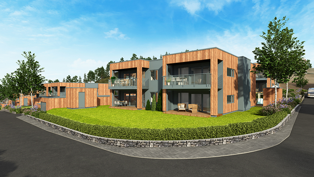 Nytt boligprosjekt på Garhaug
